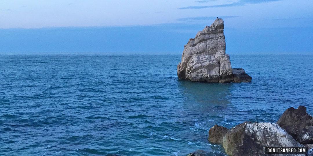 spiagge di Portonovo, La Vela, donuts on bed, blog viaggi, blog turismo, travel blog, vacanze mare