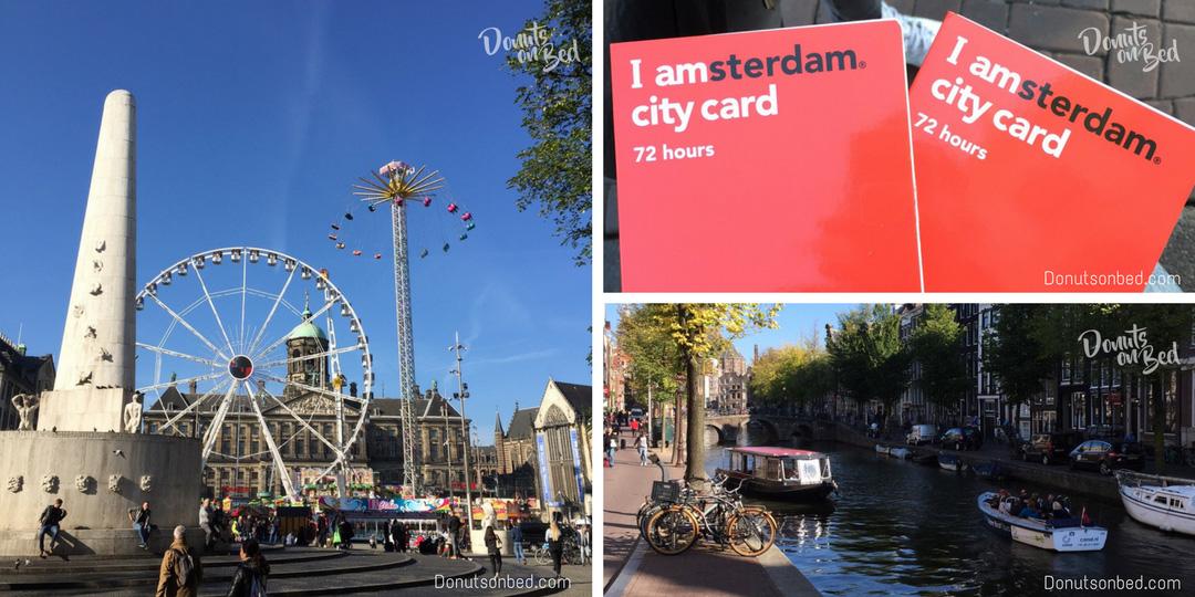 Viaggio Amsterdam donuts on bed travel blog consigli di viaggio