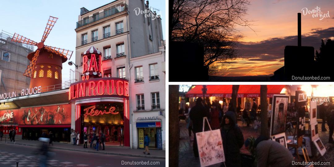 viaggio a parigi travel blog donuts on bed