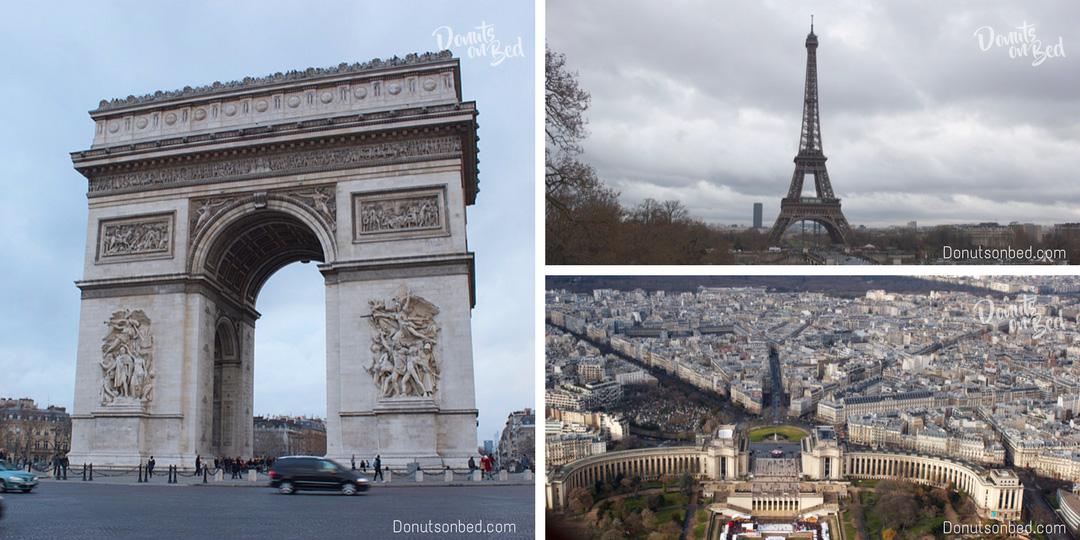 viaggio parigi natale travel blog visita tour eiffel