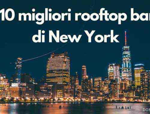 migliori rooftop bar new york