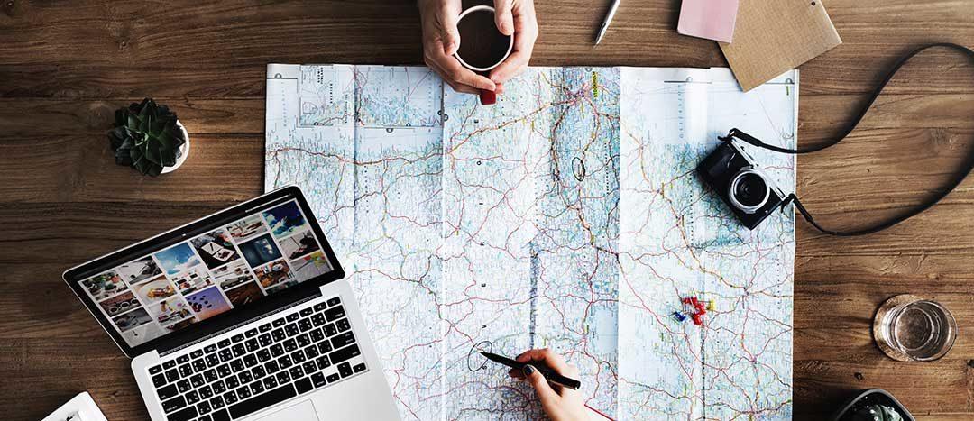 racconti di viaggio itinerari