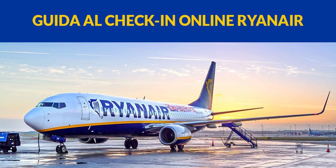 guida come fare check-in online ryanair
